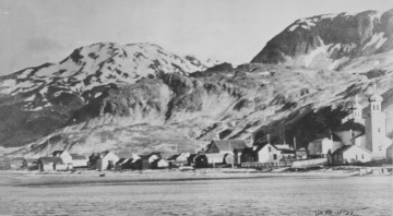 A Village in the Aleutian Islands