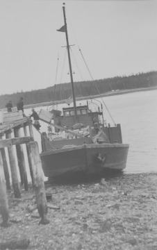 Photograph of Atka Aleuts taken at Killianoo, Alaska