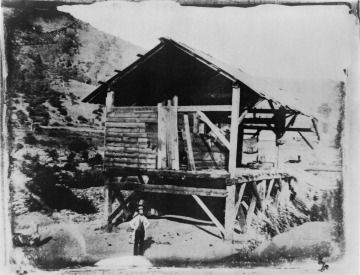 James Marshall, discover of gold, at Sutter's Mill