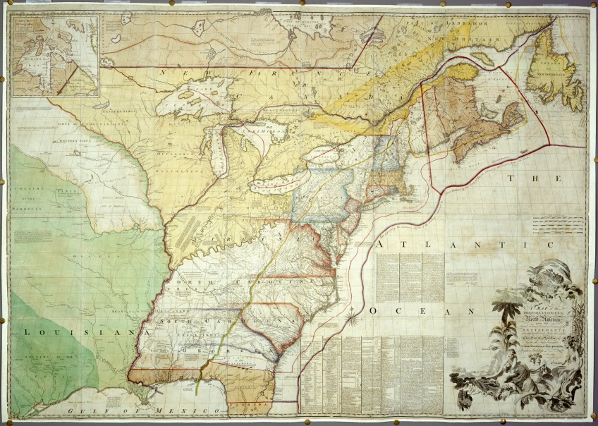 Treaty Of Paris Map 1783.The Peace Of Paris Ignores Native Peoples Rights Timeline