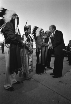 President Gerald Ford at Native American Awareness Week