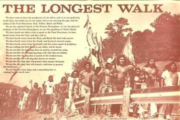 Longest Walk poster