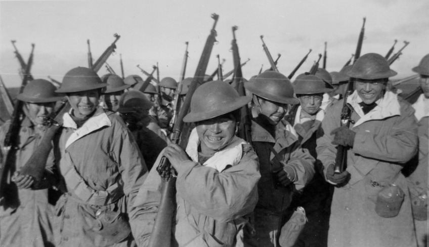 the indian national army in wwii Indian independance: world war ii  the indian national army led by subhas chandra bose joined the japanese to fight against the british pm clement attlee.