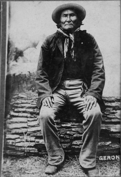 Geronimo, Apache Indian Chief