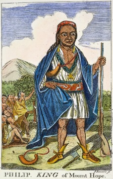 King Philip of Wampanoag (Metacomet)