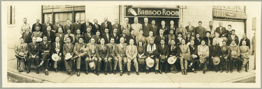 Participants du Congrès de Denver en novembfre 1944