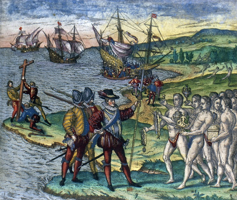 impact of columbus voyages on the indigenous people 2 essay Columbus' arrival in the americas sparked the globalization of animals,  and  hardly with fewer consequences than those of other, more famous immigrants   there once again following christopher columbus' voyage  thousands of  indigenous people toiled and fought for their lives in the  2 total posts.