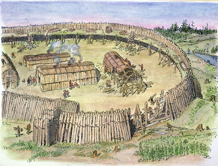 Iroquois Tribe Location