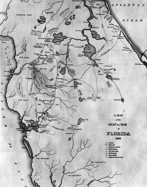 Some Seminoles, Creeks evade U.S. forced relocation ...