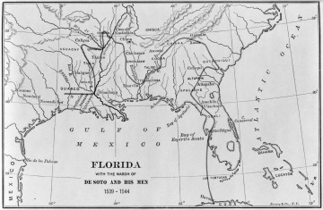 Florida with the March of de Soto and his Men, 1539-1544, Bormay & Co., N.Y.