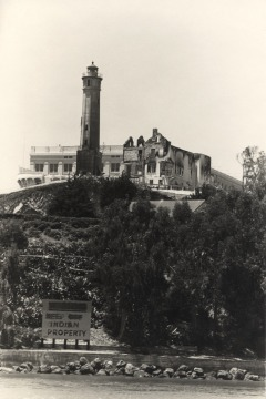 Alcatraz under Native occupation