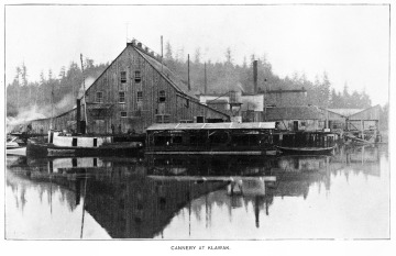 Cannery at Klawak, First Salmon Cannery