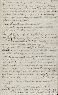 Tecumseh's Speech to Governor Harrison, 20 August 1810