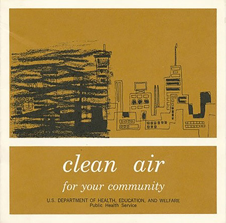 Clean Air for Your Community, Public Health Service (PHS) Division of Air Pollution, 1966
