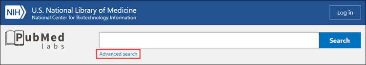 PubMed Labs Update: Advanced Search, History, and Search