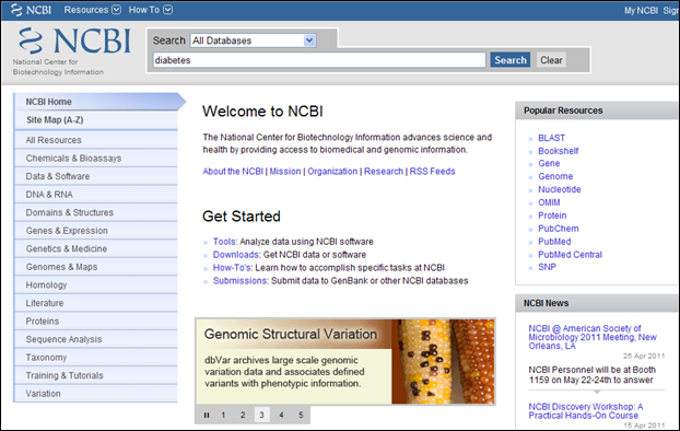 Nlm gateway transitioning to new pilot project site nlm technical screen capture of ncbi homepage and all databases option in the search box stopboris Images