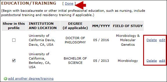 SciENcv: NIH Fellowship Biographical Sketch  NLM Technical
