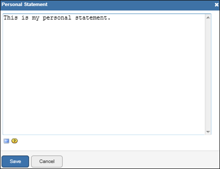 Nih Biosketch Template Personal Statement