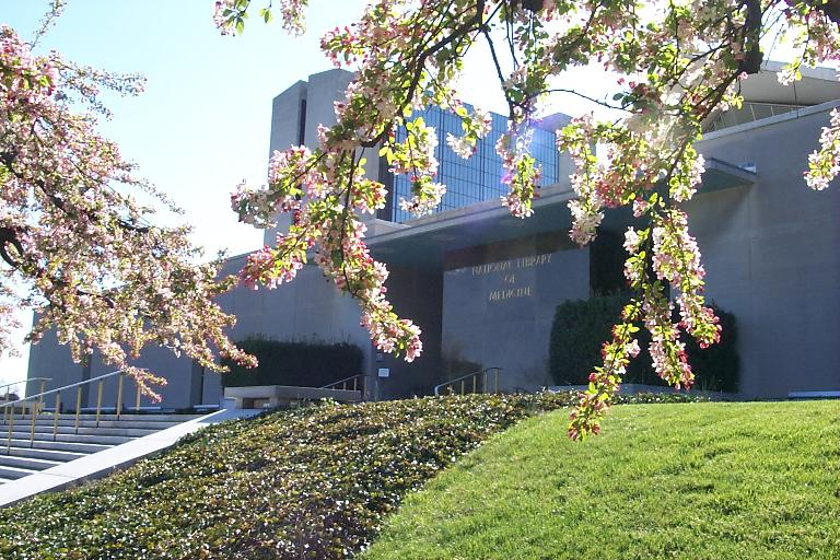 National Library of Medicine and Lister Hill Center, Spring