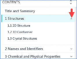 Accessing HSDB Content from PubChem