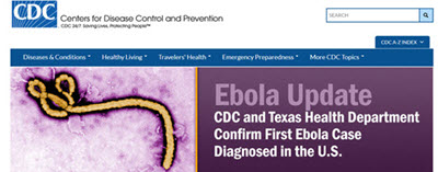CDC home page